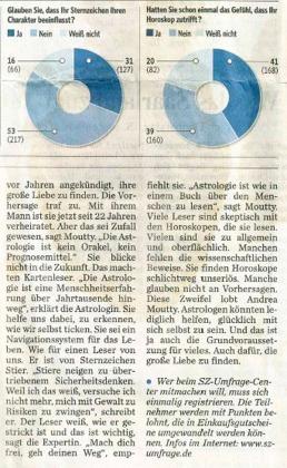 Andrea Moutty Moderne Astrologie Saarland Saarbrücker Zeitung 2017