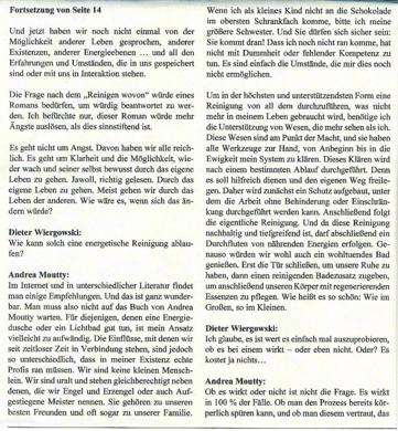 """Dipl. Päd. Dieter Wiergowski - Herausgeber der Zeitung """"Die Andere Realität"""""""